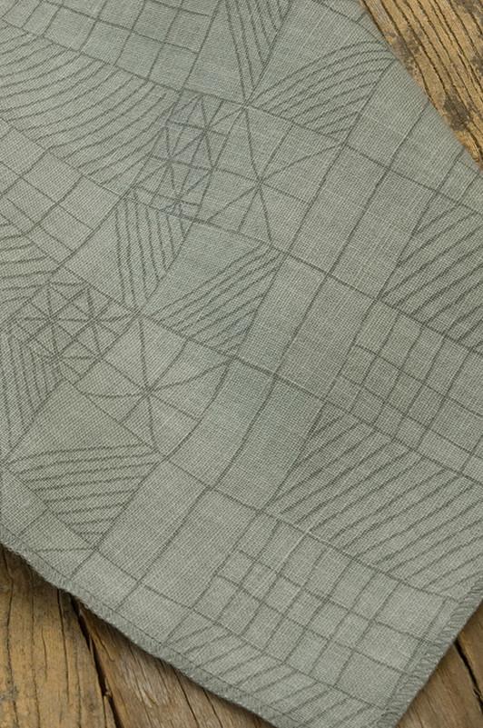 architect's quilt / 1023-02 / zinc