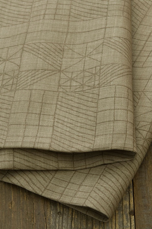 architect's quilt / 1023-01 / gravel