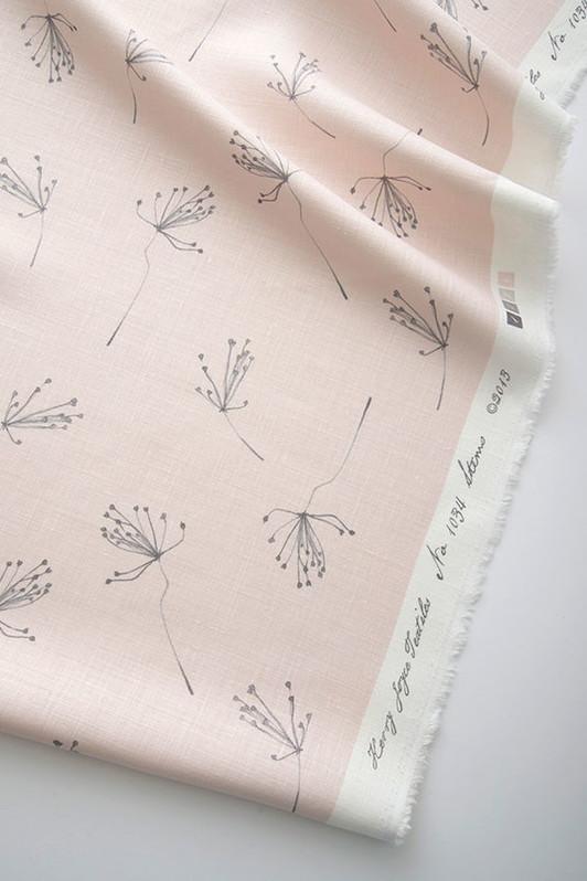 stems / 1034-02 / gray/pink