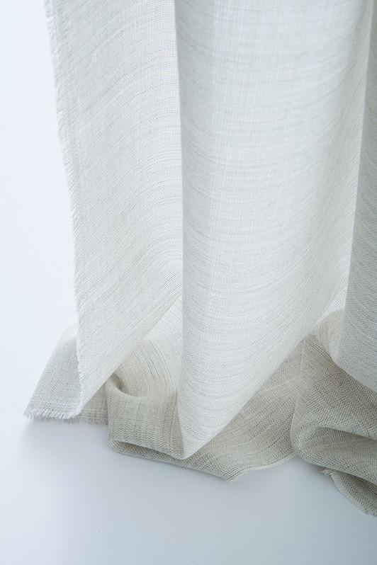 cardiff sheer / 2039-01 / whitewash