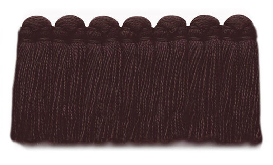 1.5 in. café brush fringe / 5003-32 / black cherry
