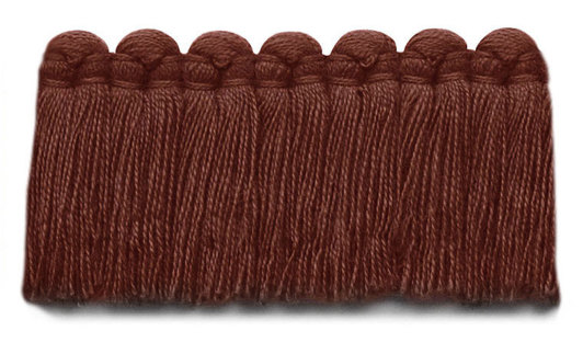 1.5 in. café brush fringe / 5003-29 / brick