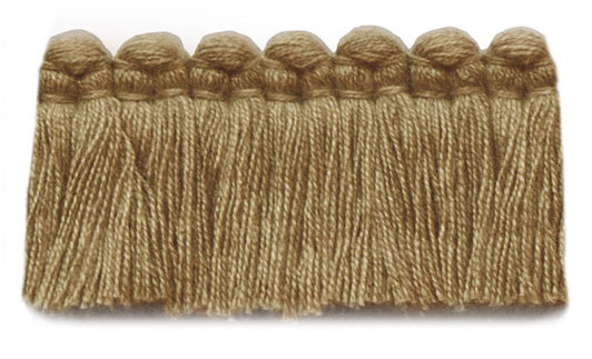 1.5 in. café brush fringe / 5003-07 / brass