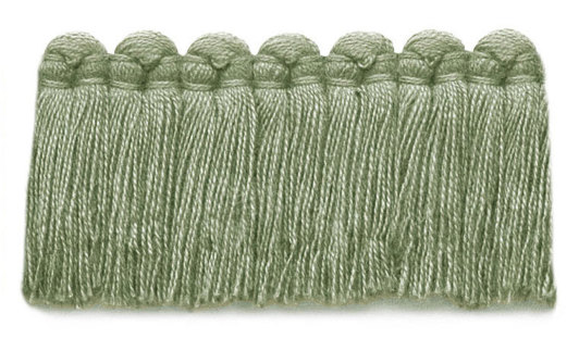 1.5 in. café brush fringe / 5003-21 / celery