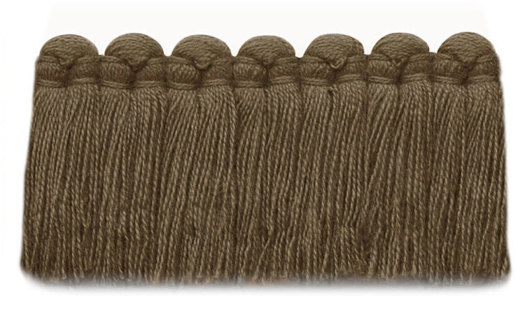 1.5 in. café brush fringe / 5003-08 / cocoa