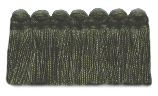 1.5 in. café brush fringe / 5003-24 / fern