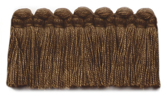 1.5 in. café brush fringe / 5003-34 / heather brow
