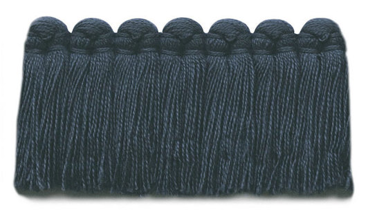 1.5 in. café brush fringe / 5003-18 / indigo