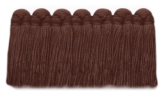 1.5 in. café brush fringe / 5003-31 / umber