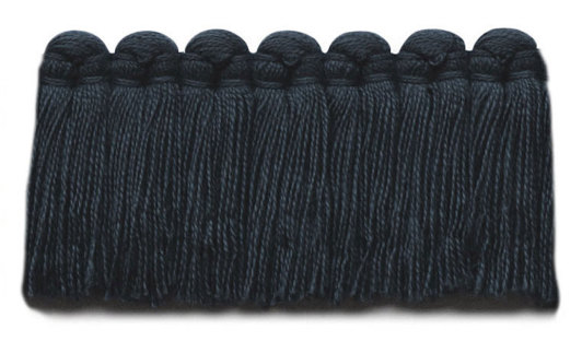 1.5 in. café brush fringe / 5003-17 / navy