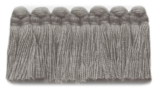 1.5 in. café brush fringe / 5003-10 / nickel