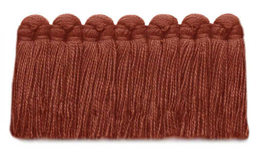 1.5 in. café brush fringe / 5003-28 / pimento