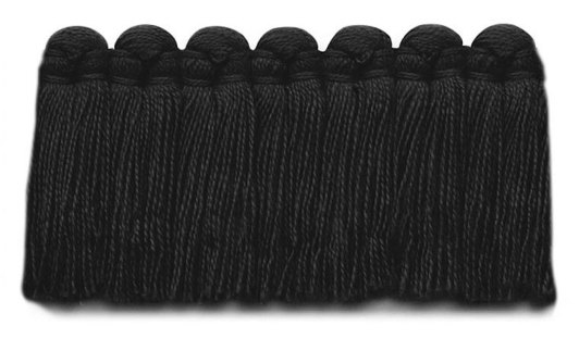 1.5 in. café brush fringe / 5003-37 / raven