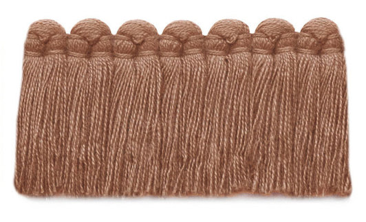 1.5 in. café brush fringe / 5003-27 / salmon