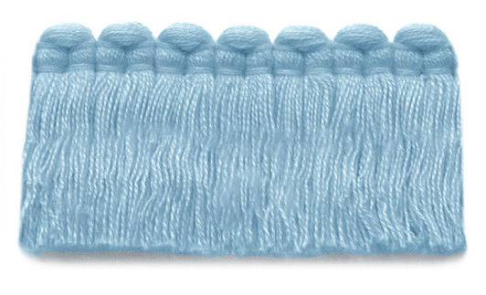 1.5 in. café brush fringe / 5003-14 / sky blue