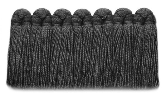 1.5 in. café brush fringe / 5003-13 / slate