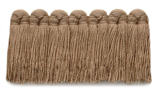 1.5 in. café brush fringe / 5003-06 / toast