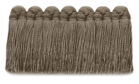 1.5 in. café brush fringe / 5003-11 / taupe