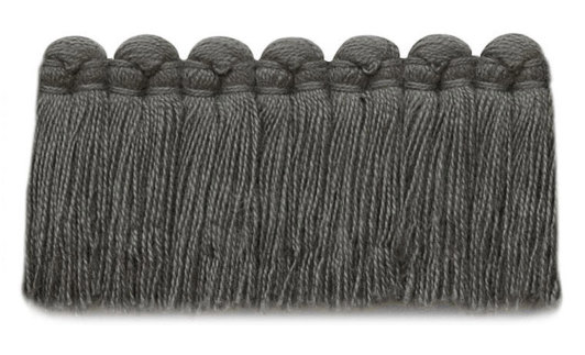 1.5 in. café brush fringe / 5003-12 / weathered gray