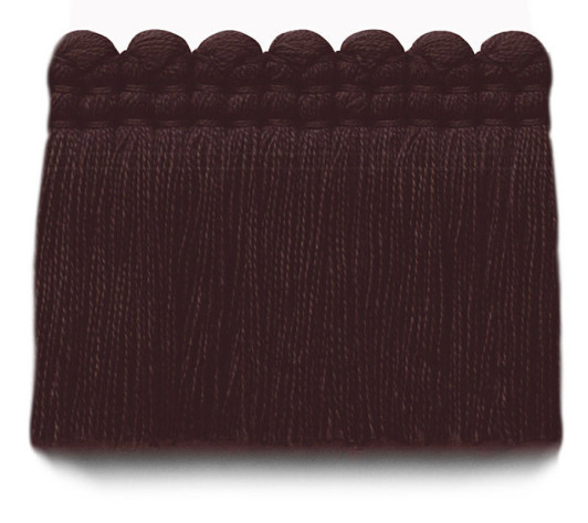 2 in. chelsea brush fringe / 5004-32 / black cherry