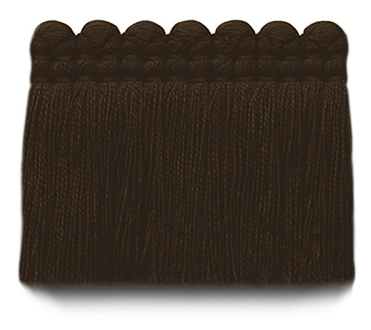 2 in. chelsea brush fringe / 5004-35 / bittersweet