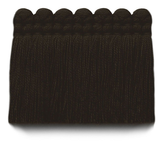2 in. chelsea brush fringe / 5004-36 / black coffee