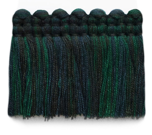 2 in. chelsea brush fringe / 5004-26 / bottle green