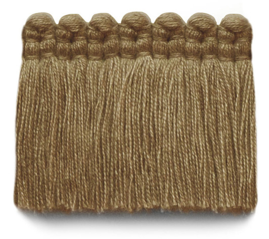 2 in. chelsea brush fringe / 5004-07 / brass
