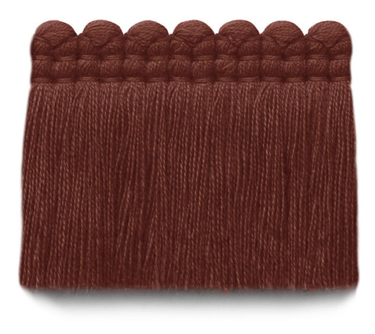 2 in. chelsea brush fringe / 5004-29 / brick