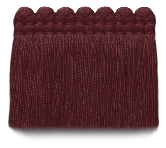 2 in. chelsea brush fringe / 5004-30 / cabernet