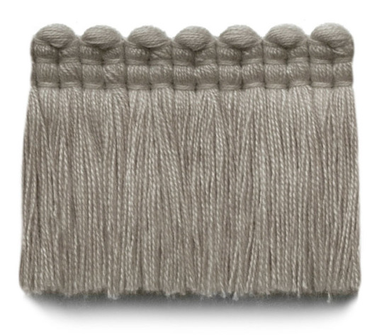2 in. chelsea brush fringe / 5004-09 / cadet gray