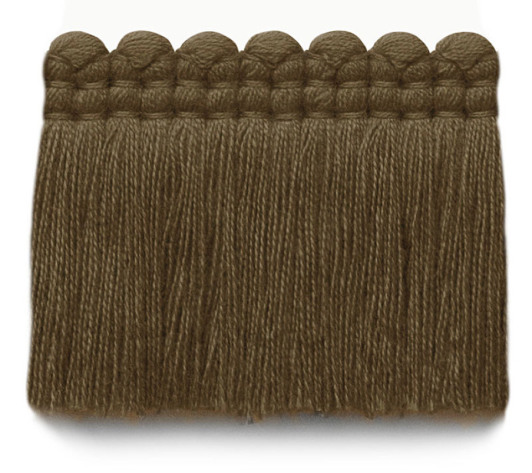 2 in. chelsea brush fringe / 5004-08 / cocoa