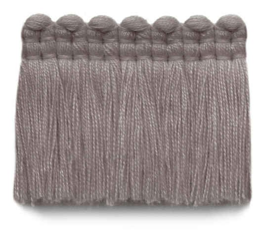 2 in. chelsea brush fringe / 5004-39 / dusty violet