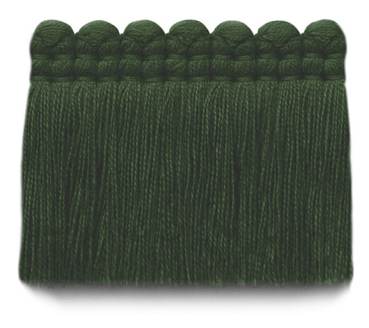 2 in. chelsea brush fringe / 5004-25 / evergreen