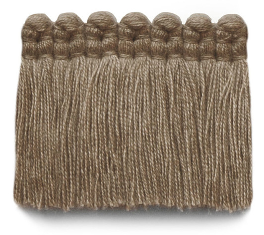 2 in. chelsea brush fringe / 5004-05 / heather beige