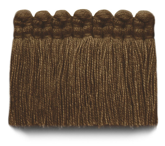 2 in. chelsea brush fringe / 5004-34 / heather brown