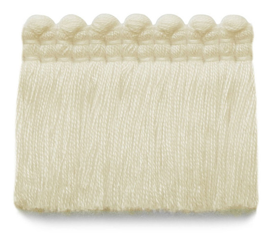 2 in. chelsea brush fringe / 5004-02 / ivory