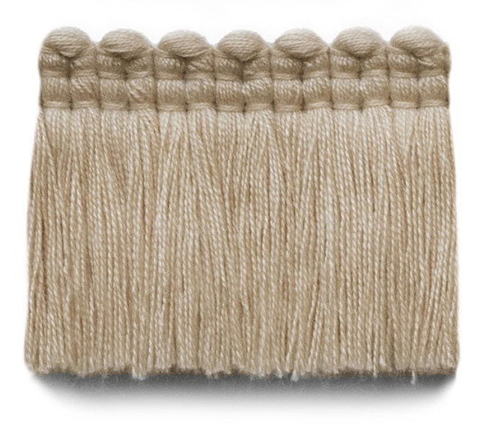 2 in. chelsea brush fringe / 5004-04 / linen