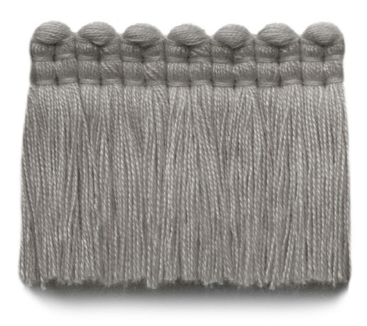 2 in. chelsea brush fringe / 5004-10 / nickel