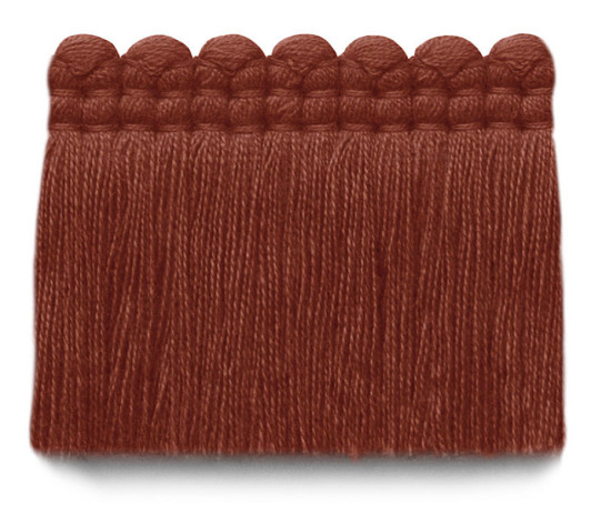2 in. chelsea brush fringe / 5004-28 / pimento