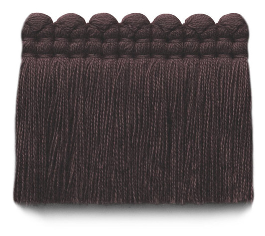 2 in. chelsea brush fringe / 5004-38 / plum
