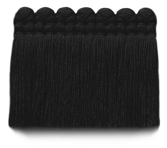 2 in. chelsea brush fringe / 5004-37 / raven