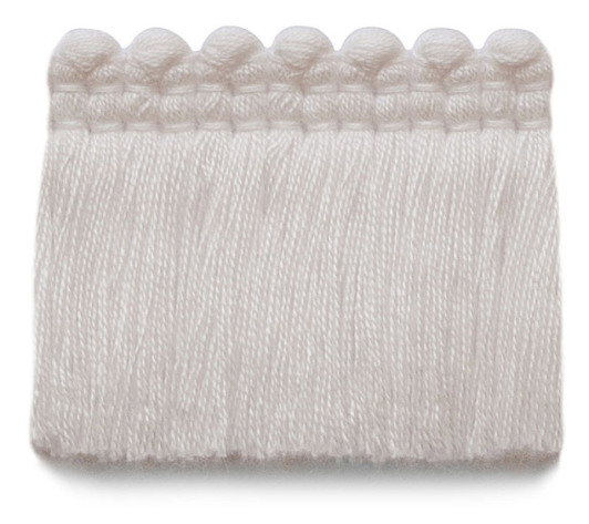 2 in. chelsea brush fringe / 5004-01 / snow