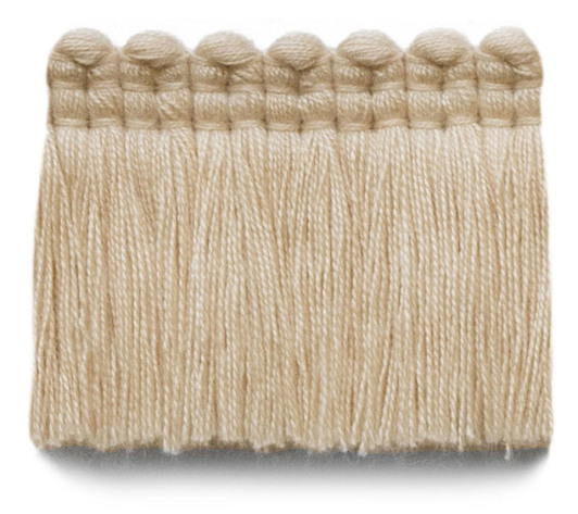 2 in. chelsea brush fringe / 5004-03 / vellum