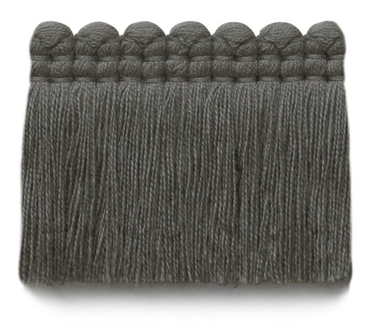 2 in. chelsea brush fringe / 5004-12 / weathered gray