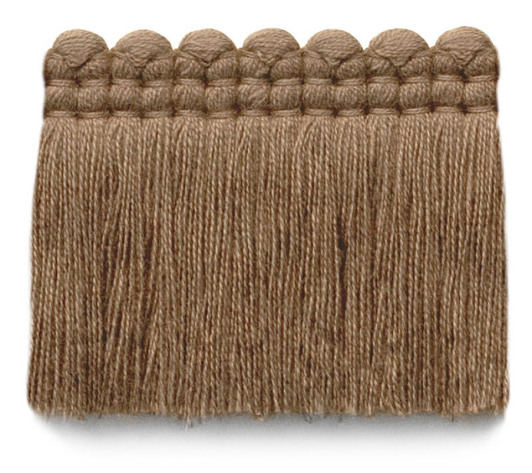 2 in. chelsea brush fringe / 5004-06 / toast