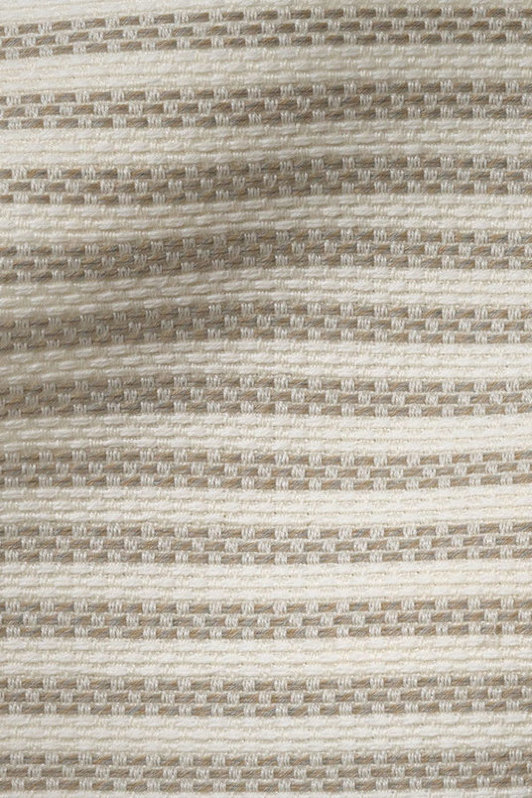 ticking stripe | 4014-02 | taupe/ivory