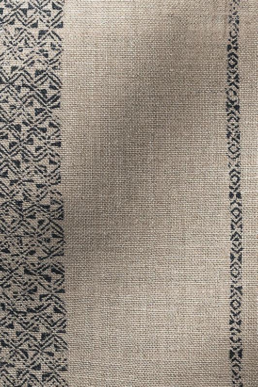 java stripe / 1036-04 / indigo on flax