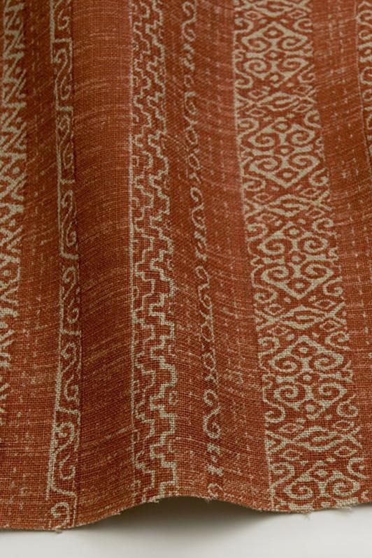 sawyer stripe / 1007-01 / rustic red