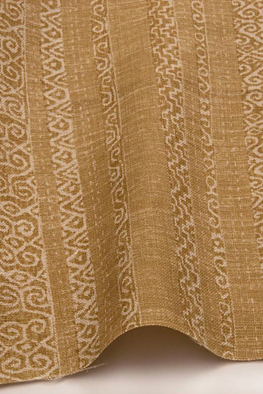 sawyer stripe / 1007-03 / deep ochre